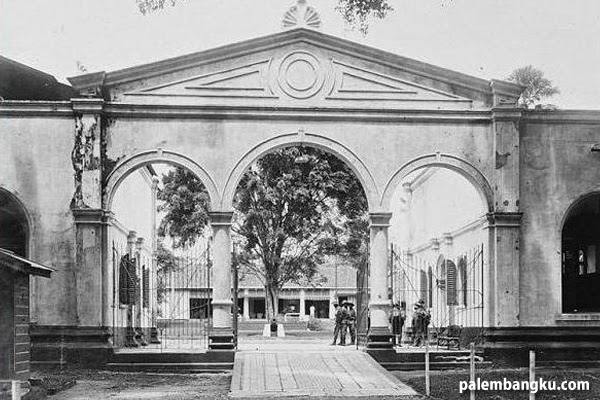 Sejarah Benteng Kuto Besak Bkb Palembang Sumselnews Kota