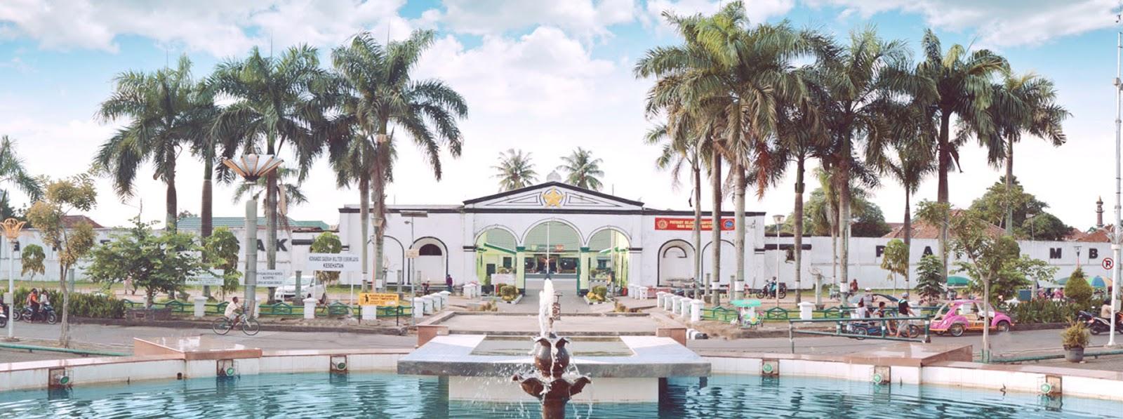Sejarah Benteng Kuto Besak Zone History Kota Palembang