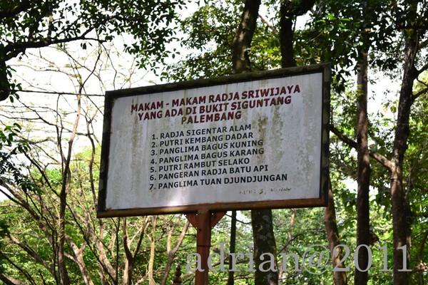 Bukit Siguntang Sejuta Cerita Palembang Daftar Makam Kota