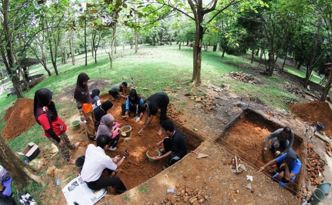 Misteri Candi Bukit Siguntang Tribun Sumsel Kota Palembang