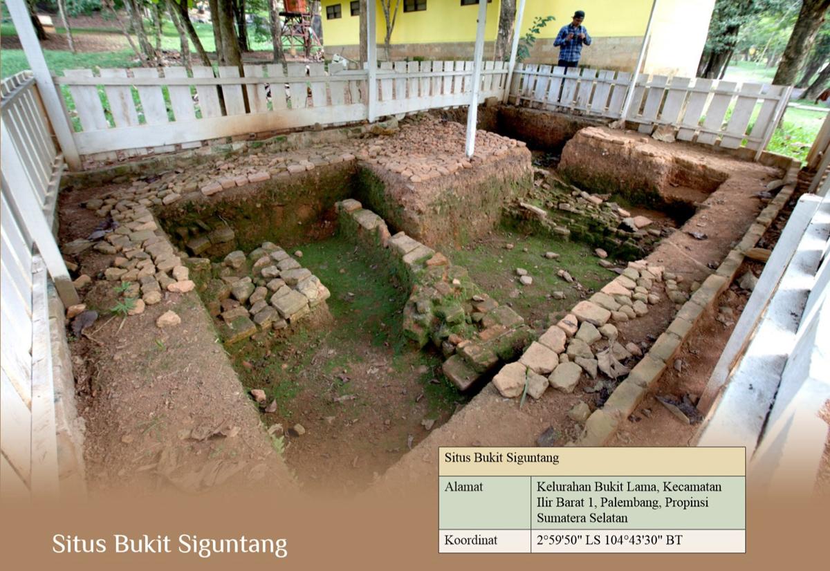 Situs Bukit Siguntang Direktorat Pelestarian Cagar Budaya Kota Palembang