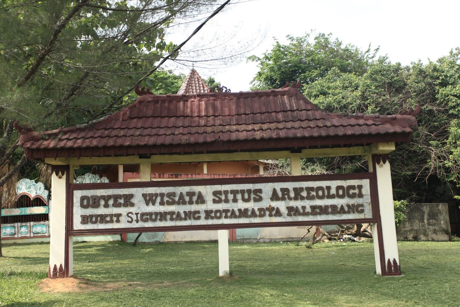 Taman Purbakala Kerajaan Sriwijaya Bukit Siguntang Kaki Diduga Reruntuhan Bangunan