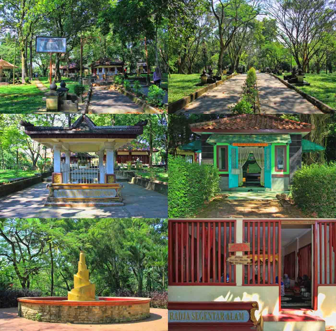 Wisata Sejarah Bukit Siguntang Palembang Sumatera Selatan Suasana Sekitar Kota