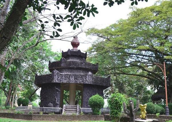 Wisata Sejarah Bukit Siguntang Sumatra Kawasan Palembang Kota