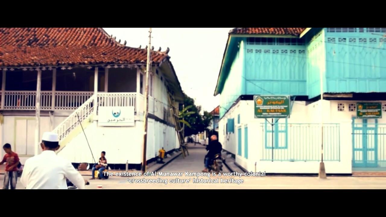 Arsitektur Indis Palembang Kampung Arab Al Munawwar Youtube Kota