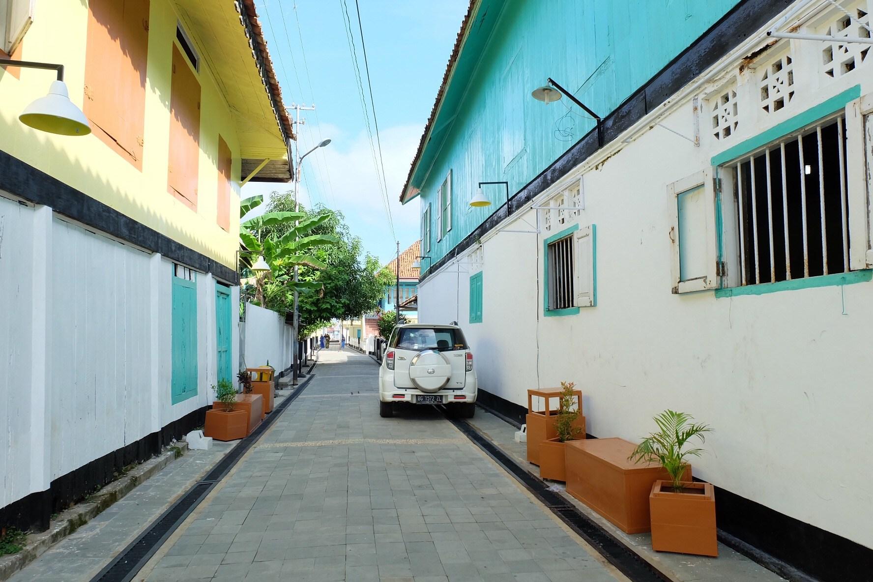 Menjejakkan Kaki Kampung Arab Al Munawar Palembang Suasana Kota