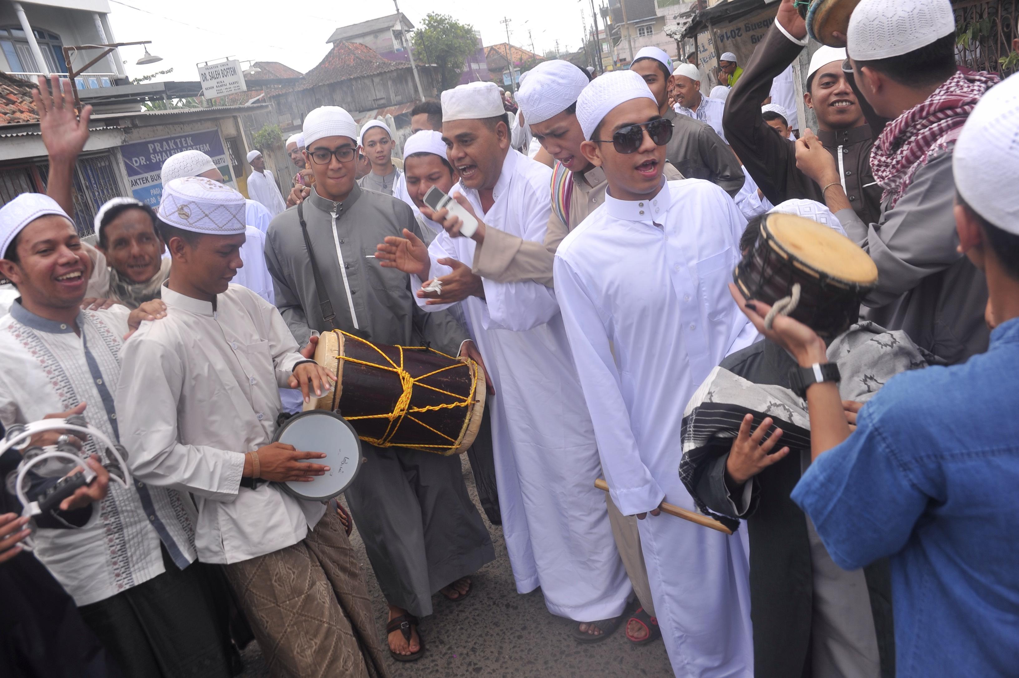 Tradisi Rumpak Rumpakan Palembang Sumsel Berita Daerah Kampung Arab Kota