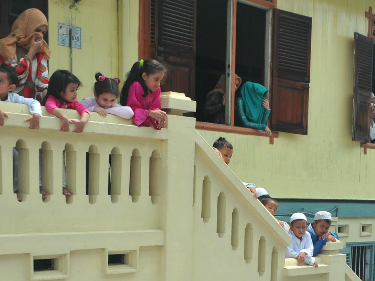 Ziarah Jelang Puasa Kampung Arab Palembang Kota