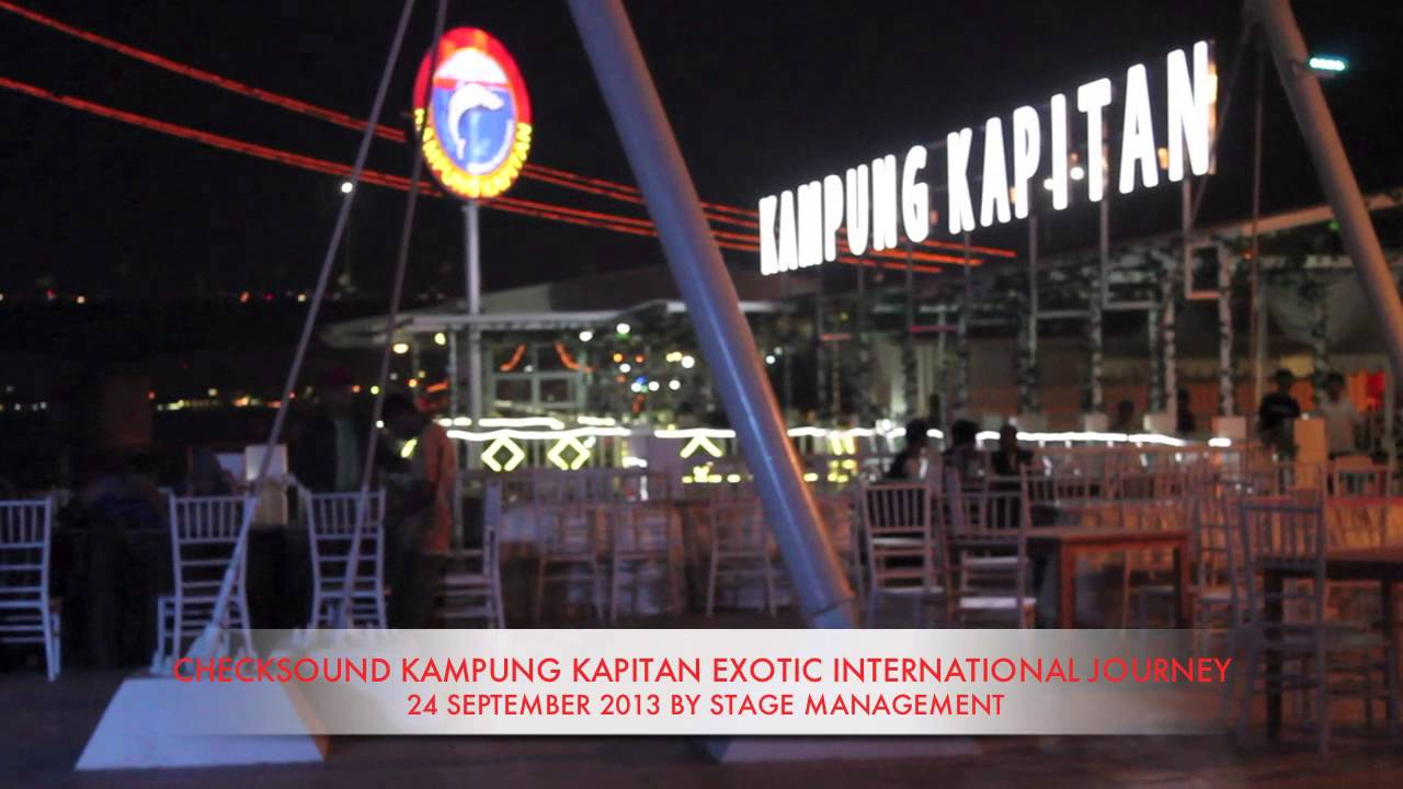 Exotic Journey Isg Kampung Kapitan Palembang Launch Qinoy Torsten Youtube