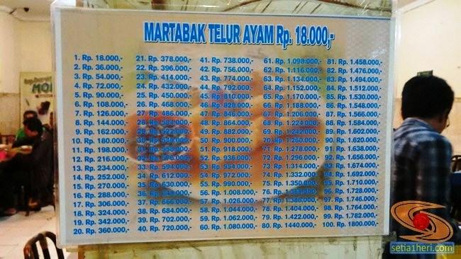 Daftar Harga Martabak Har Palembang Setia1heri Related Kota