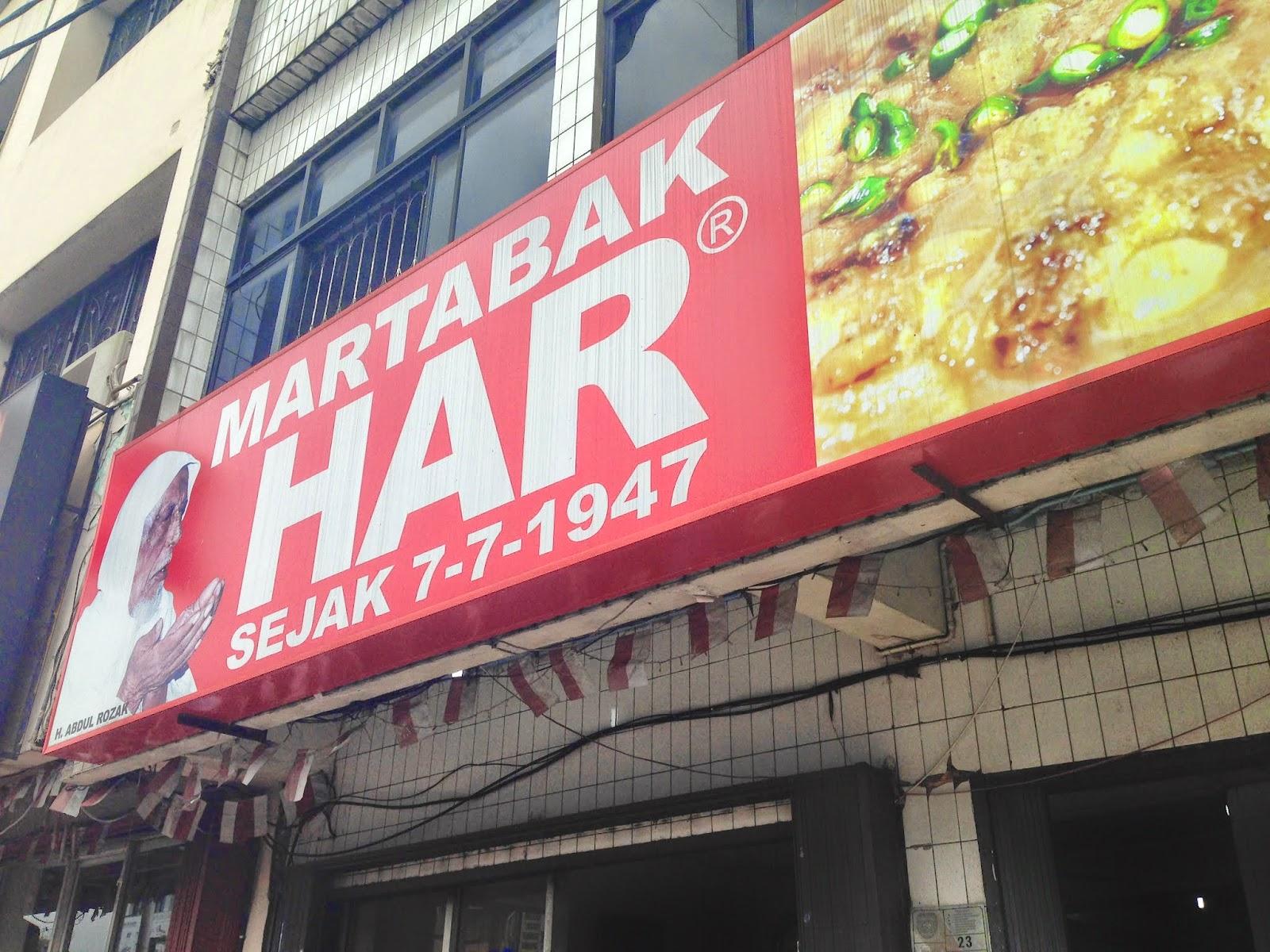 Martabak Har Palembang Eat Hungry Kota