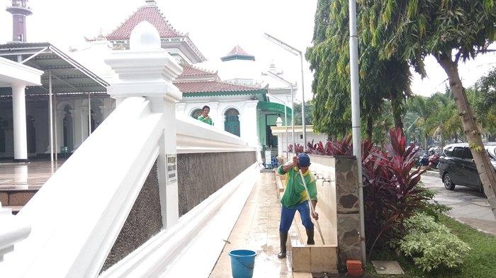 Agenda Ibadah Masjid Agung Palembang Mulai Berbenah Sambut Bulan Ramadan