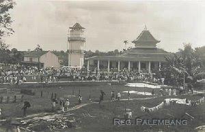 Ketika Kita Tertawa Mesjid Agung Sultan Mahmud Badaruddin Ii Masjid