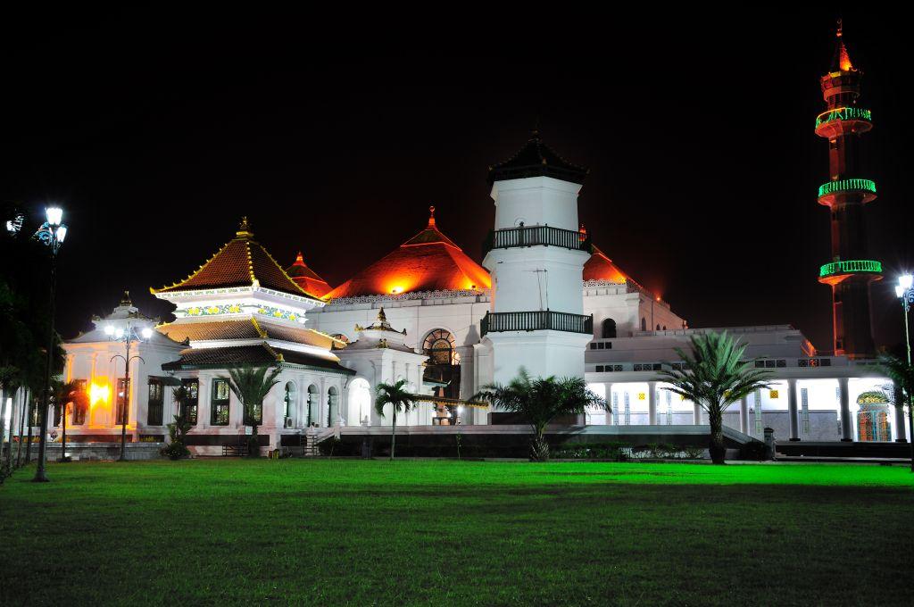 Kopi234 Masjid Agung Palembang Awalnya Tidak Mempunyai Menara Sampai Pemerintahan