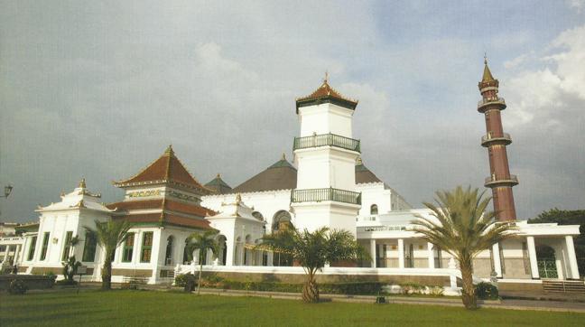 Masjid Agung Palembang Dunia Jakarta Islamic Centre Sultan Mahmud Badaruddin