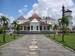 Masjid Agung Palembang Epalembang Sultan Mahmud Badaruddin Kota