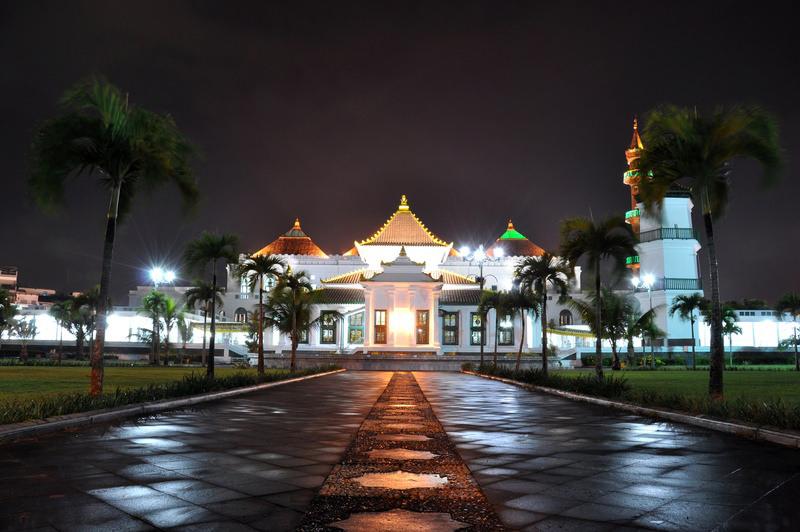 Masjid Agung Palembang Picture 6 10 2010 13pm Flickr Suhandies