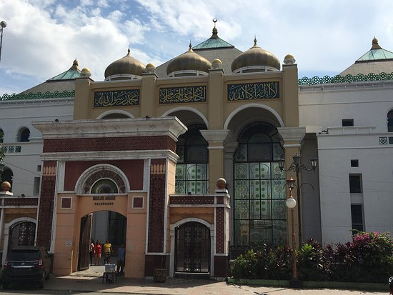 Masjid Agung Palembang Picture Great Mosque Sultan Mahmud Badaruddin Kota