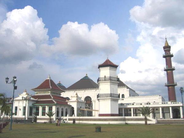 Masjid Agung Palembang Sultan Mahmud Badaruddin Ii Dipengaruhi Oleh 3