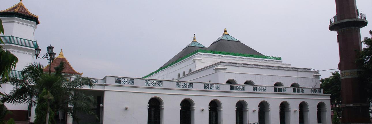 Masjid Agung Palembang Sultan Perpaduan Tiga Kebudayaan Mahmud Badaruddin Kota