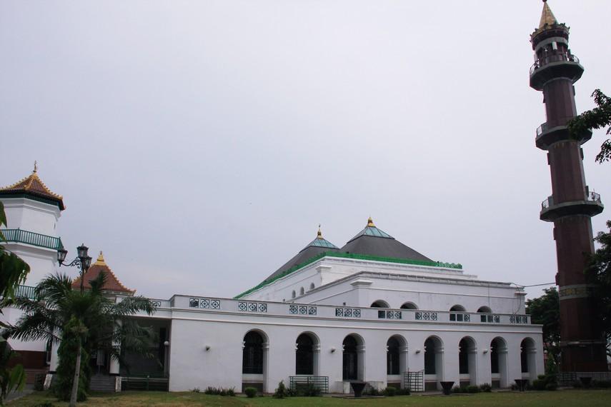Masjid Agung Palembang Sultan Perpaduan Tiga Kebudayaan Sumatera Selatan Terletak