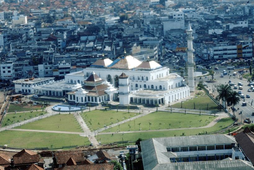 Masjid Agung Sultan Badaruddin Ii Palembang Kontraktor Kubah Mahmud Kota