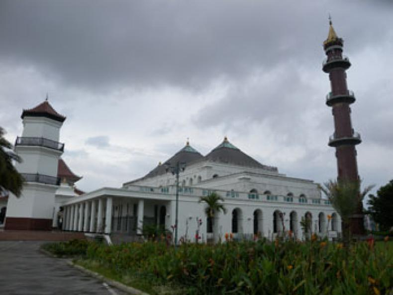 Masjid Agung Sultan Badaruddin Jejak Penyebaran Islam Palembang Mahmud Kota