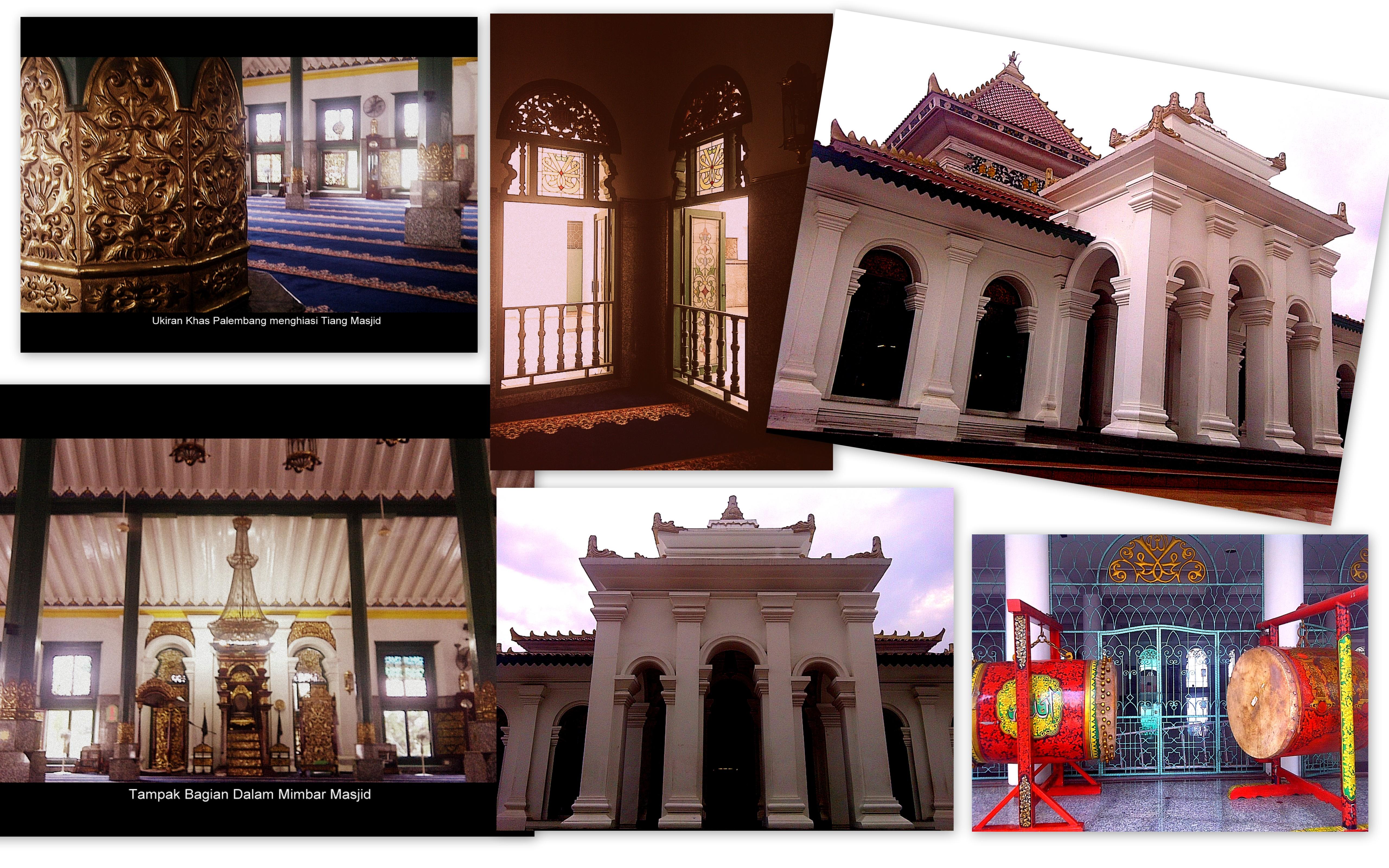 Masjid Agung Sultan Mahmud Badaruddin Ii Palembang Catatan Asril Gue
