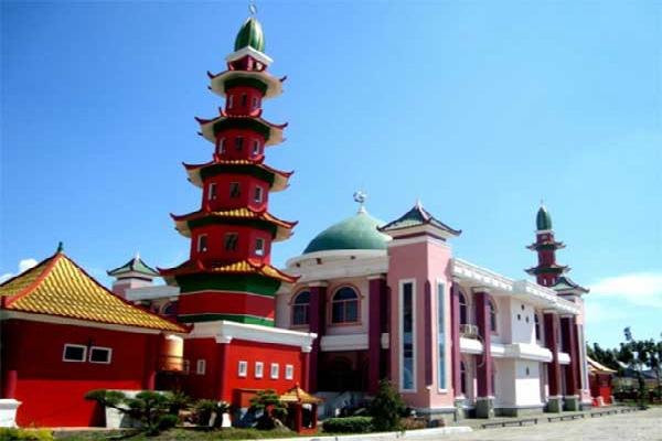 Masjid Agung Sultan Mahmud Badaruddin Kota Palembang Provinsi Unik Cheng