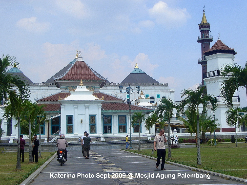 Mesjid Agung Palembang Katerina Masjid Sultan Mahmud Badaruddin Biasa Disebut