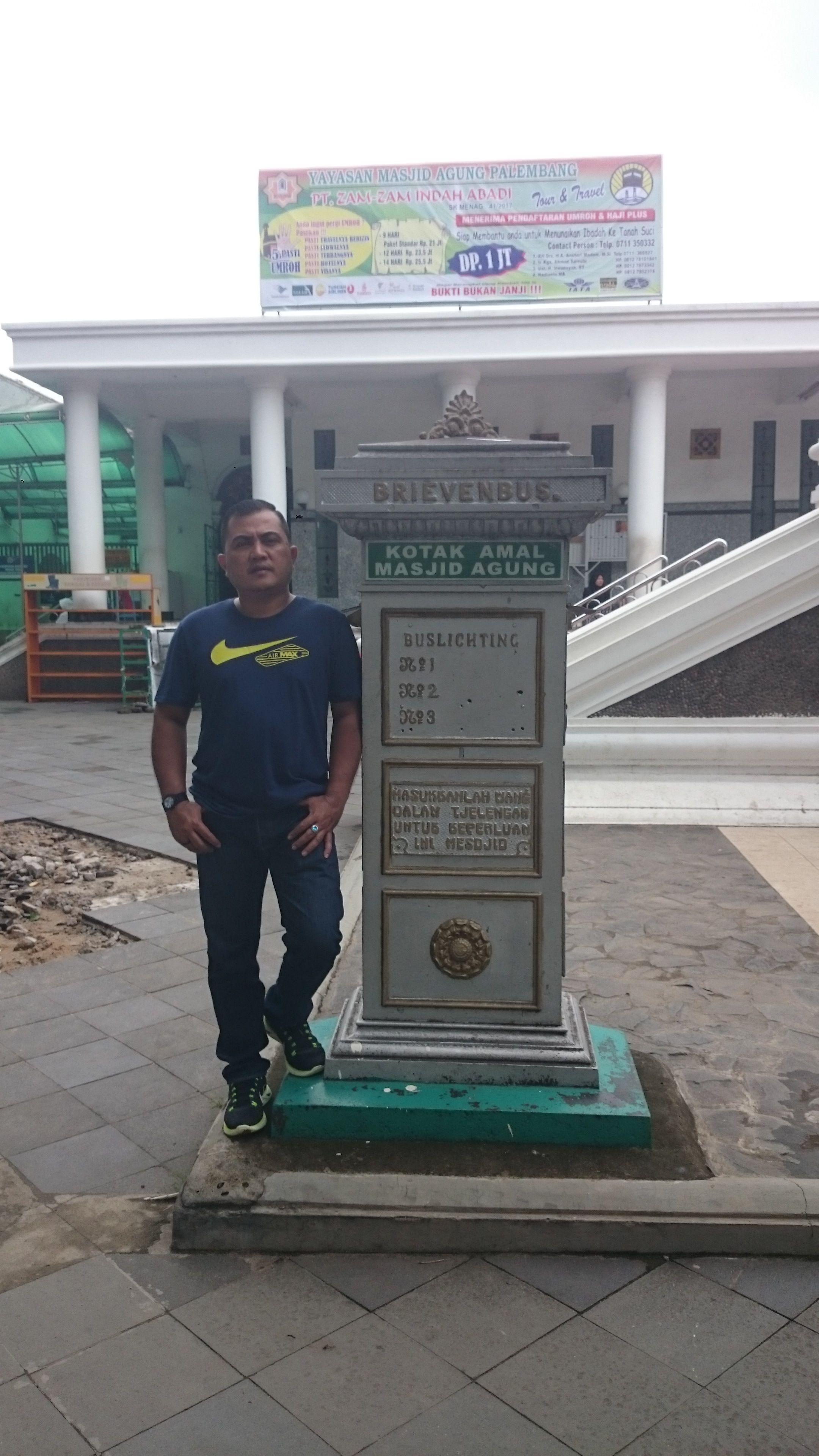 Mesjid Agung Palembang Sejarahnya Steemit Masjid Dibangun 1738 Oleh Sultan