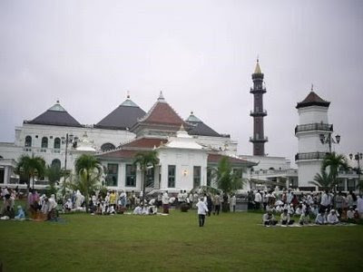 Picnic Palembang Kota Minyak Masjid Agung Dulu Dinamakan Sultan Dibangun
