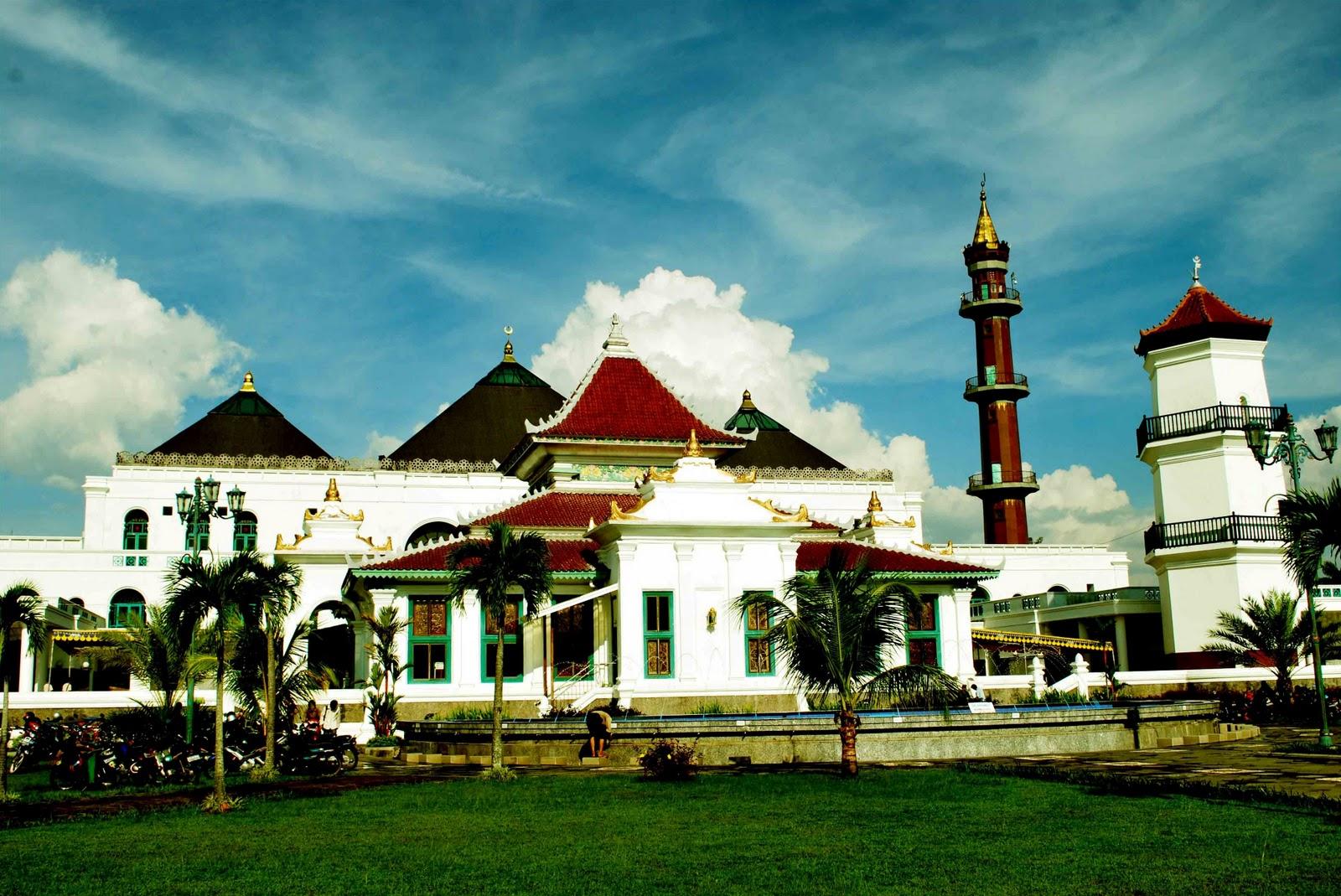 Rindu Masjid Agung Sultan Mahmud Badaruddin Ii Palembang Bagian Kota