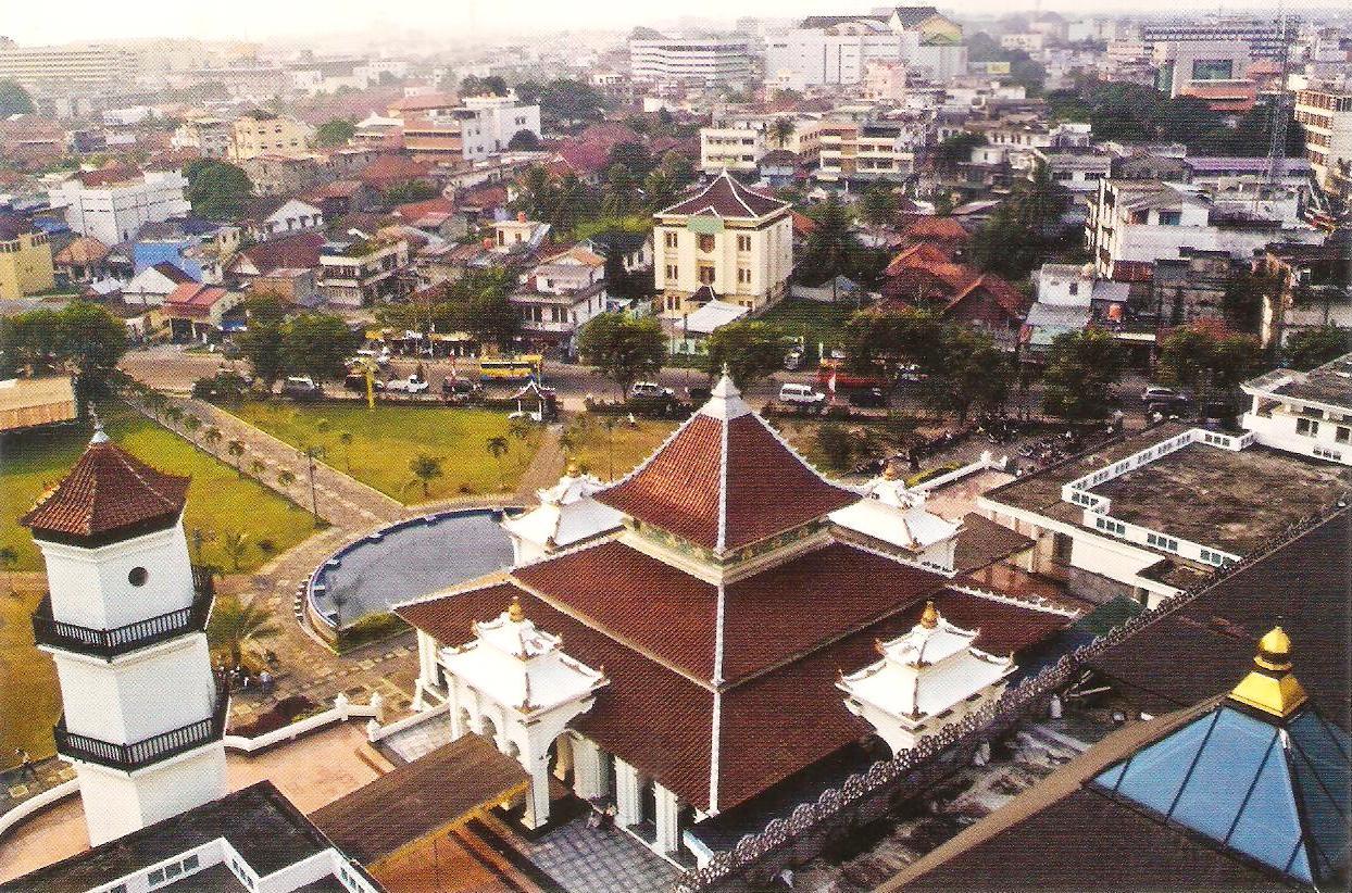 Rindu Masjid Agung Sultan Mahmud Badaruddin Ii Palembang Banungan Tua