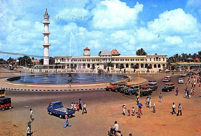 Rindu Masjid Agung Sultan Mahmud Badaruddin Ii Palembang Smb 1970