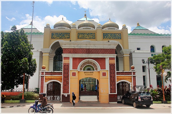 Supermeng Malaya Trip Palembang 3h2m 05 Masjid Agung Sultan Terletak