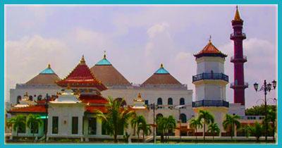 Wisata Religi Masjid Agung Sultan Mahmud Badaruddin Palembang Arsitektur Bangunan