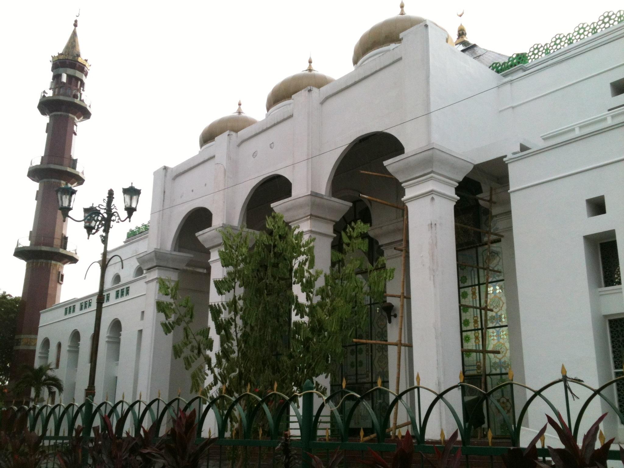 Wisata Religi Masjid Didirikan Abad 18 Oleh Sultan Mahmud Badaruddin