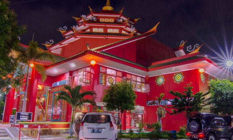 Ahok Tionghoa Masjid Cheng Hoo Redaksi Indonesia Palembang Kota
