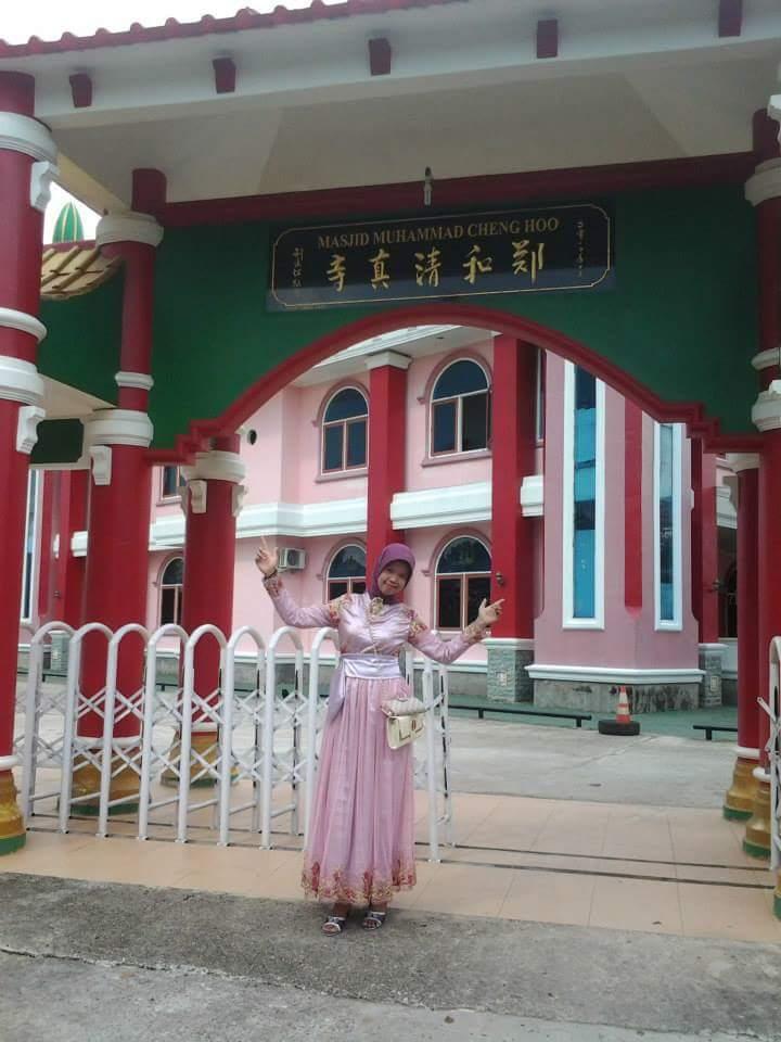 Arsitektur Cina Masjid Cheng Ho Palembang Memukau Hoo Kota