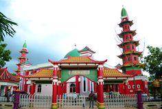 Baitul Atiq Palembang Indonesia Soga Soegiarto Mosque Masjid Cheng Hoo