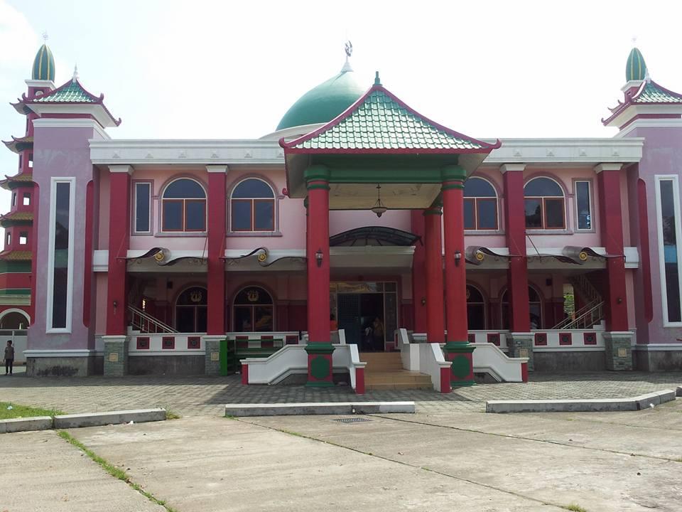 Blog Sarah Jalan Masjid Cheng Ho Palembang Hoo Kota