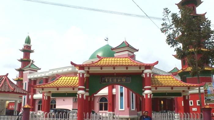 Cheng Hoo Mosque Palembang South Sumatra Located City Brother Surabaya