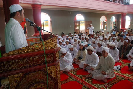 Cheng Hoo Mosque Palembang South Sumatra Place Worship Free Charge