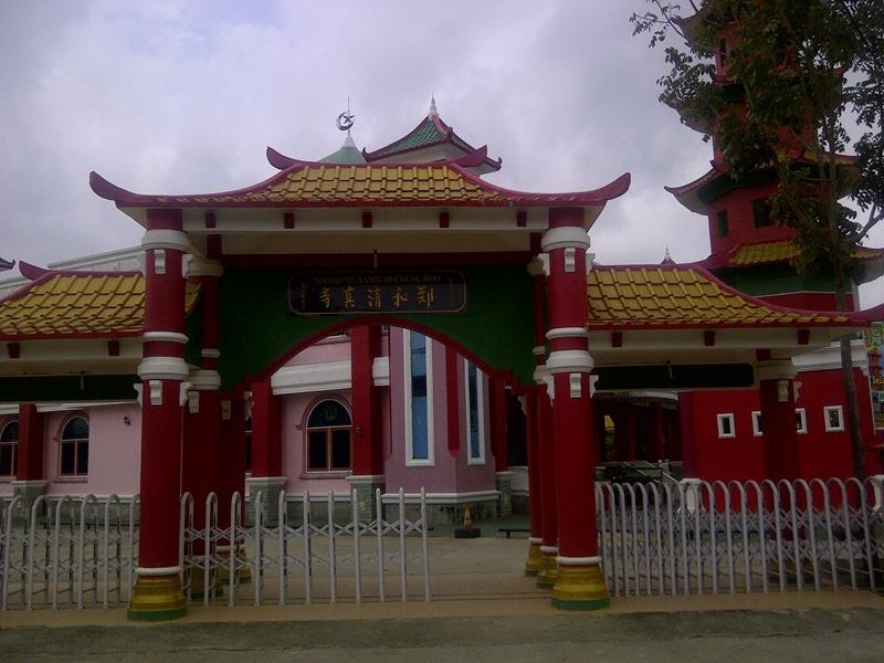 Direktori Pemerintah Kota Palembang Foto Masjid Cheng Hoo
