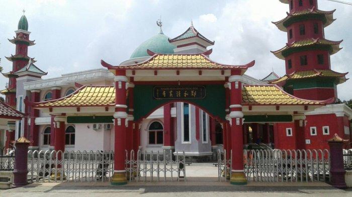 Harmonisasi Dua Etnis Dimulai Masjid Cheng Ho Tribun Sumsel Hoo