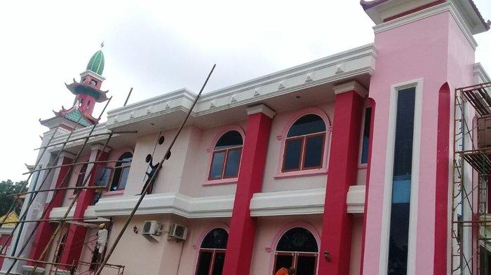 Jelang Ramadhan Masjid Cheng Ho Sriwijaya Cat Bernuansa Muslim Khas