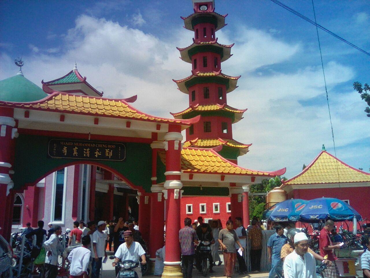 Kulturasi Budaya Masjid Cheng Hoo Palembang Klikanggaran Rumah Tahfidz Digunakan