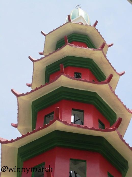 Masjid Cheng Ho Palembang Kulturasi Budaya Tionghoa Indonesia Design Temple