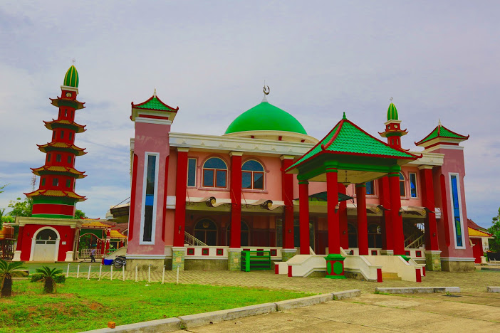 Masjid Cheng Ho Palembang Perpaduan Gaya Arsitektur Cina Arab Nama